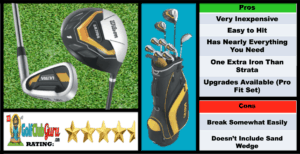 Photos, Review, Ranking, Pros, and Cons of Wilson Men's Ultra Complete Golf Set