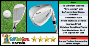 Photos, Review, Ranking, Pros, and Cons of Ping Glide Wedge