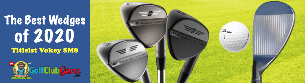 titleist vokey sm8 options different bounces