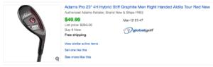 Adams Pro Hybrid value