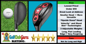 Adams Red Hybrid Pros Cons Review