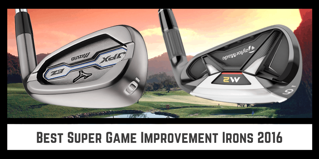 Cover Photo for the Best Super Game Improvement Golf Irons 2016