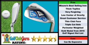 Photos, Review, Ranking, Pros, and Cons of Mizuno JPX 850 Irons