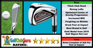Photos, Review, Ranking, Pros, and Cons of Titleist AP1 716 Irons