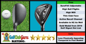 Photos, Review, Ranking, Pros, and Cons of Titleist 816 H1 Hybrid