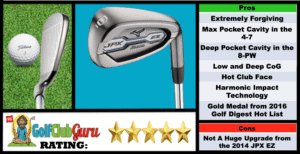 Photos, Review, Ranking, Pros, and Cons of Mizuno JPX EZ Irons 2016