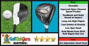 Photos, Review, Ranking, Pros, and Cons of TaylorMade M2 Fairway Wood 3 Wood