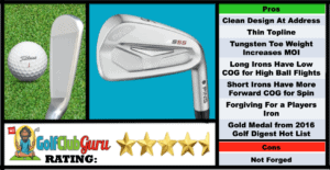 Photos, Review, Ranking, Pros, and Cons of Ping S55 Irons