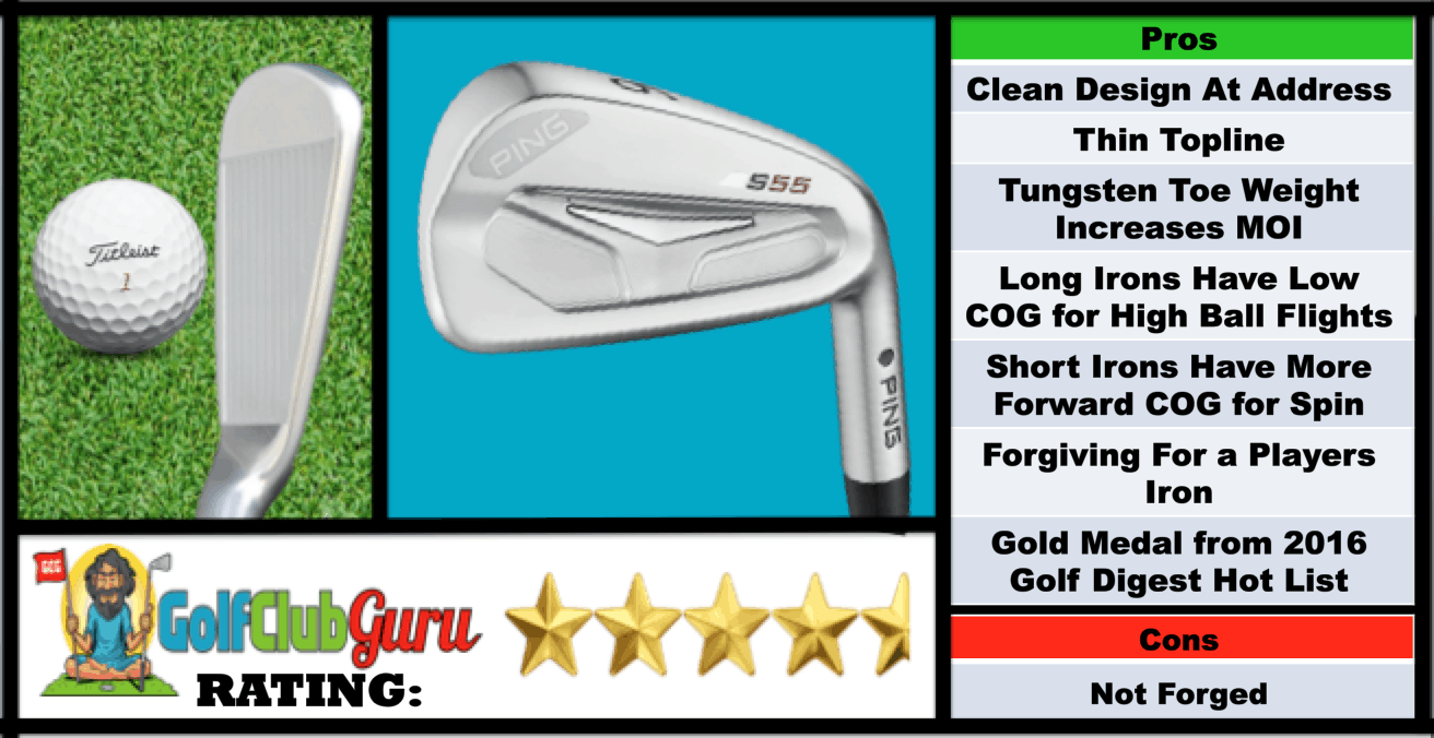golf digest gold list irons 2016