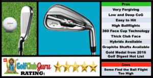 Photos, Review, Ranking, Pros, and Cons of Callaway XR Irons