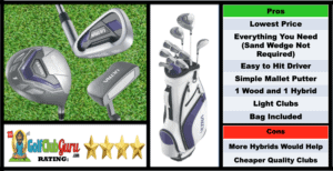 Photos, Review, Ranking, Pros, and Cons of Wilson Ultra Women's Complete Set