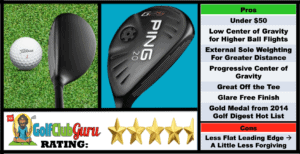 Photos, Review, Ranking, Pros, and Cons of the Ping G25 Hybrid