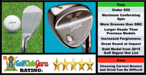 Pictures, Ranking, Review, Pros, and Cons of Titleist Vokey SM4 Golf Wedge