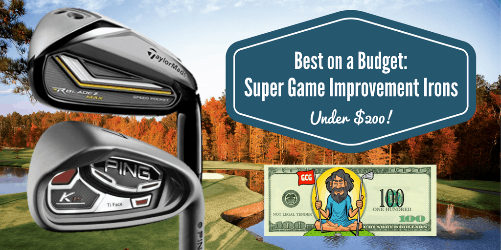Super Game Improvement Irons Under $200