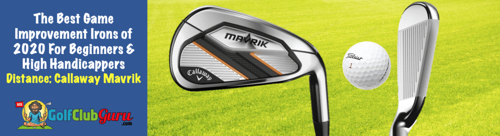 the longest game improvement irons 2020