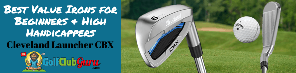 cleveland launcher cbx irons game improvement