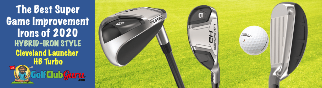 the most forgiving hybrid iron clubs