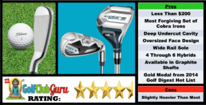 Photos, Review, Ranking, Pros, and Cons of the Cobra Baffler XL Irons