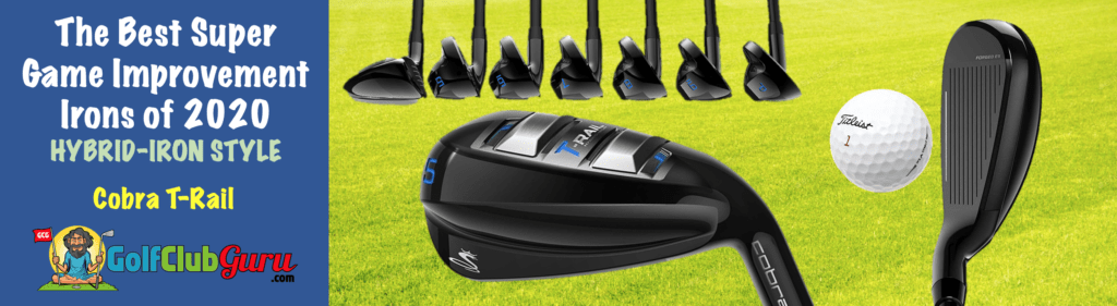 cobra t-rail hybrid iron set 2020