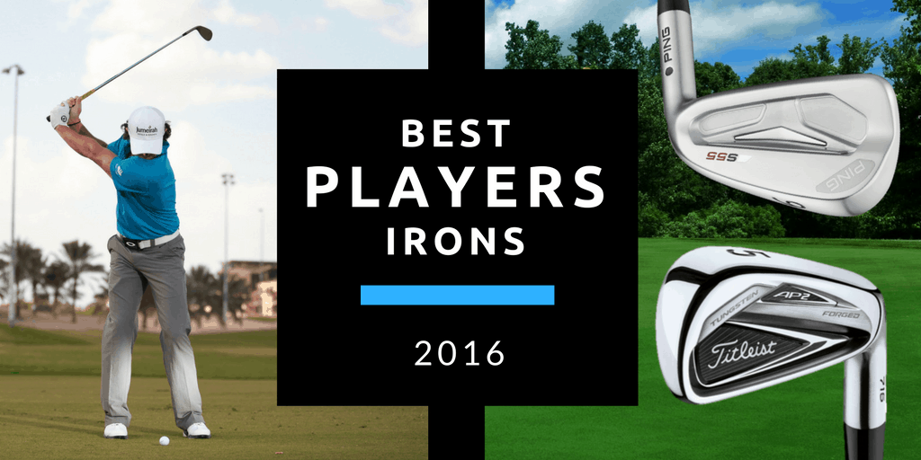 Cover for the Best Golf Players Irons of 2016