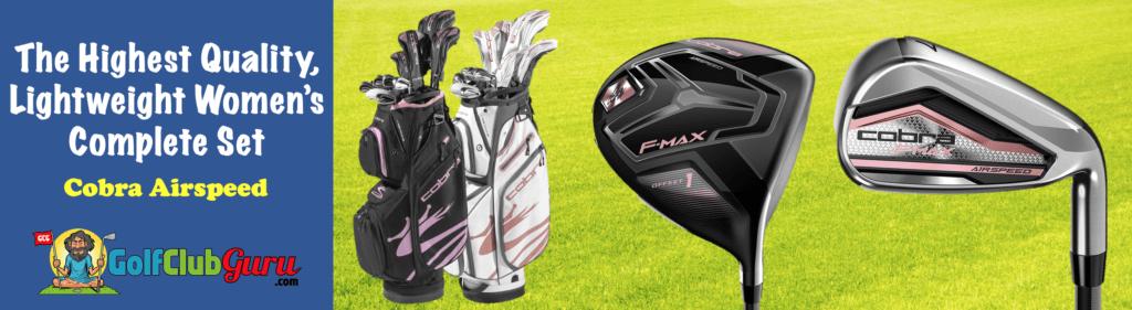 super lightweight womens golf clubs beginners women