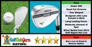 Pictures, Ranking, Review, Pros, and Cons of Mizuno MP-T4 Golf Wedge