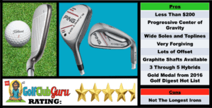 Photos, Review, Ranking, Pros, and Cons of the Budget Ping Karsten Combo Iron Set