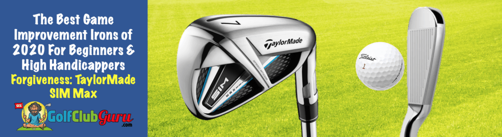 what are the most forgiving game improvement irons 2020