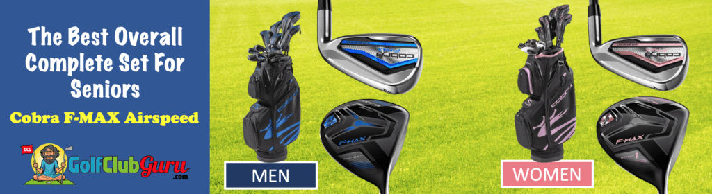 cobra f-max airspeed golf clubs set review
