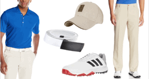 Complete Mens Golf Outfit