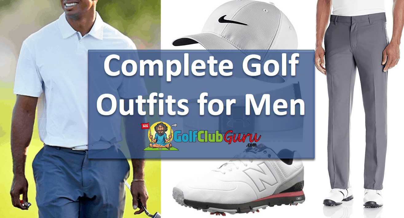 What do men wear golf course