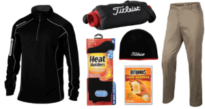 How to Stay Warm playing golf