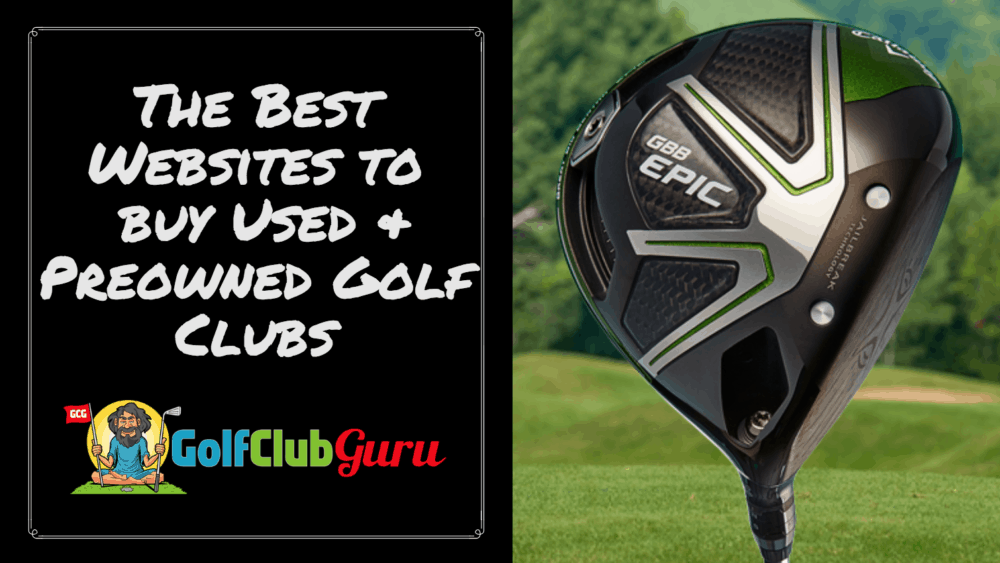 buy used golf clubs website company