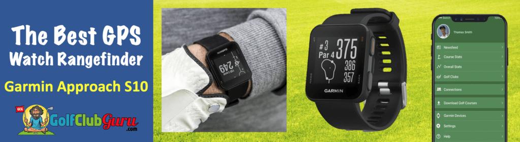 the best gps watch rangefinder phone app