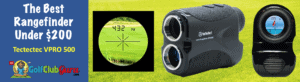 the best value rangefinder golf laser under $200 tectectec vpro500