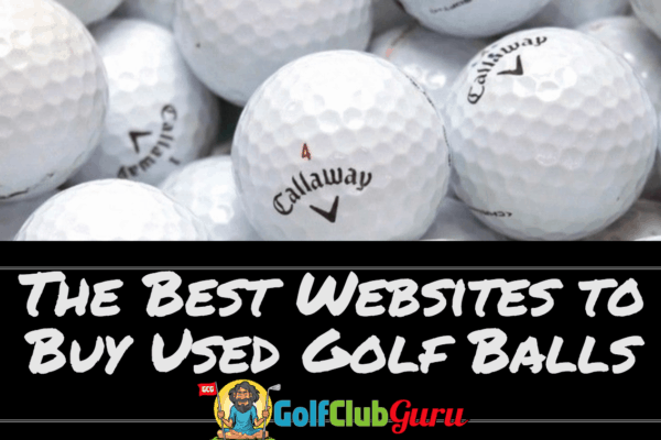 best website site buy used golf balls