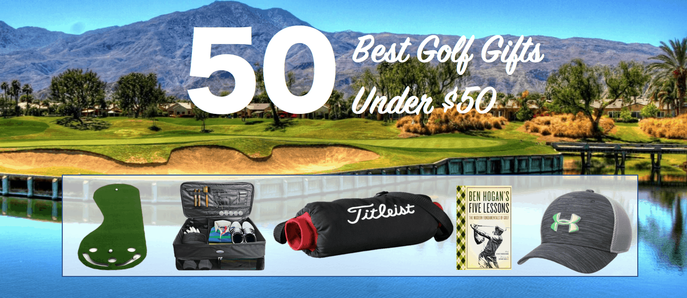 Best Golf Gifts and Presents Under $50