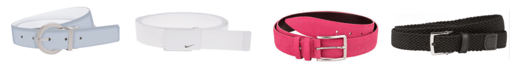 Women Golf Belts