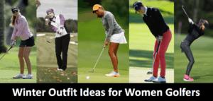 Cold Weather Golf Winter Women