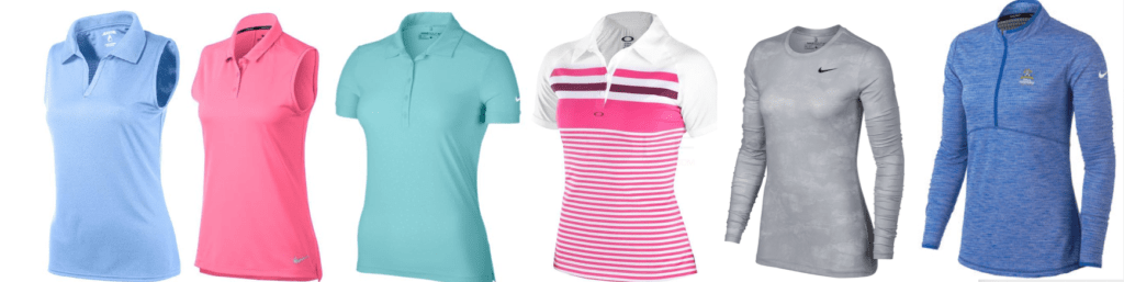 Ladies Tops Polo Shirts