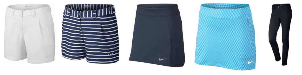 Golf Skirts and Shorts Ladies