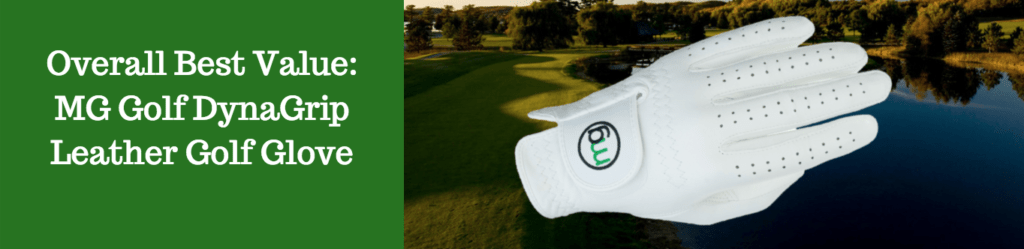 MG golf glove review budget value money