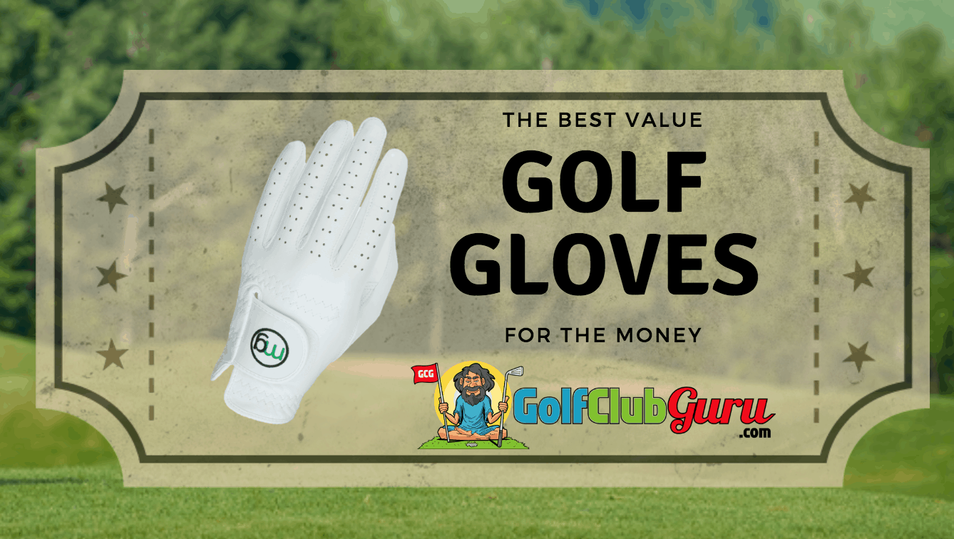 best value golf gloves