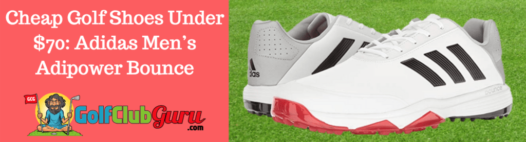 best priced golf shoes adipower bounce adidas