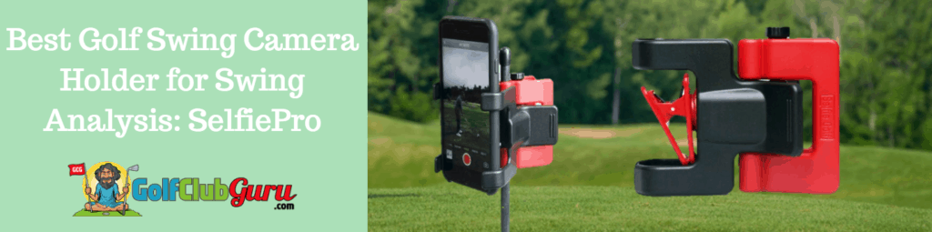 golf video phone attachment holder mount