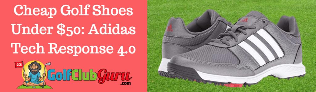 budget mens shoes walking adidas tech response 4.0