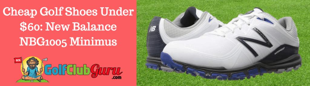 discount golf shoes new balance nbg1005 minimus
