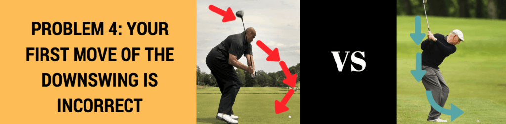 how to start downswing
