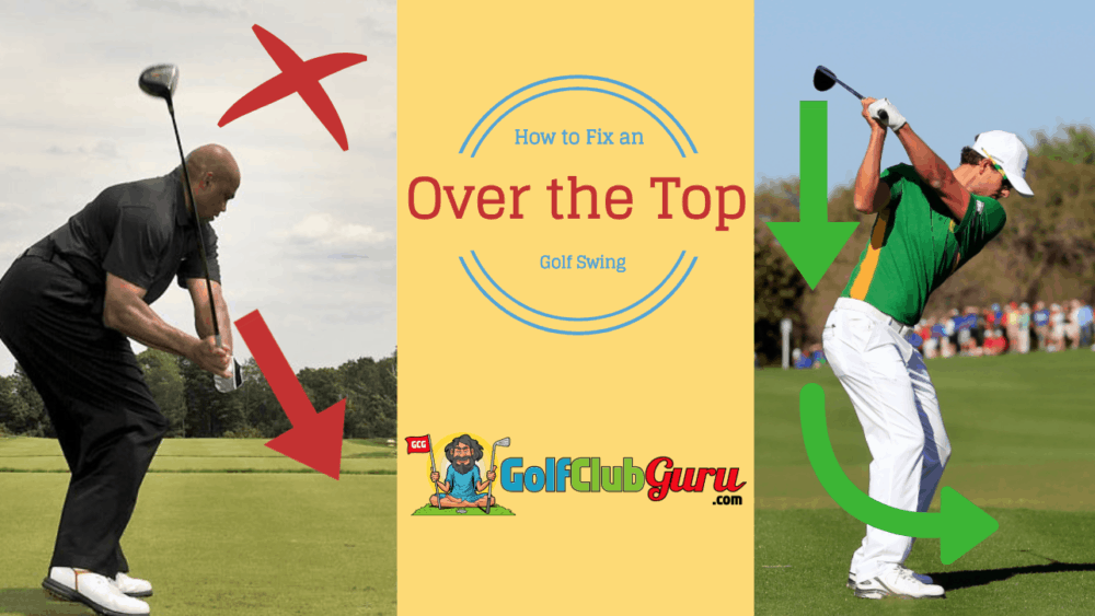 fix stop steep over the stop golf swing