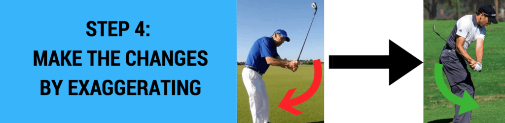 over the top golf swing fix